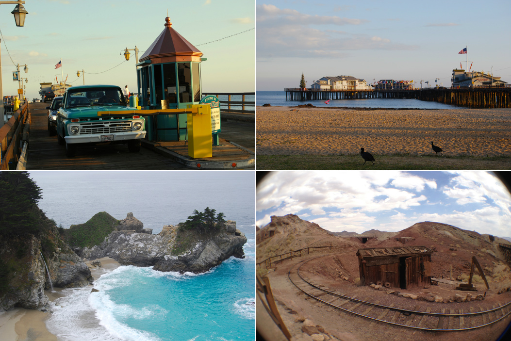 Kam bez turistov Kalifornia