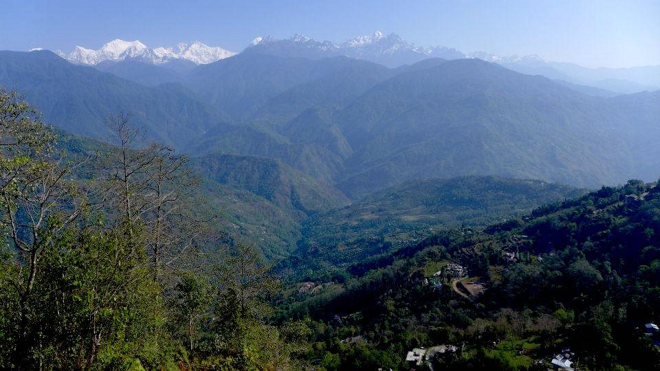 Kam do Indie Sikkim