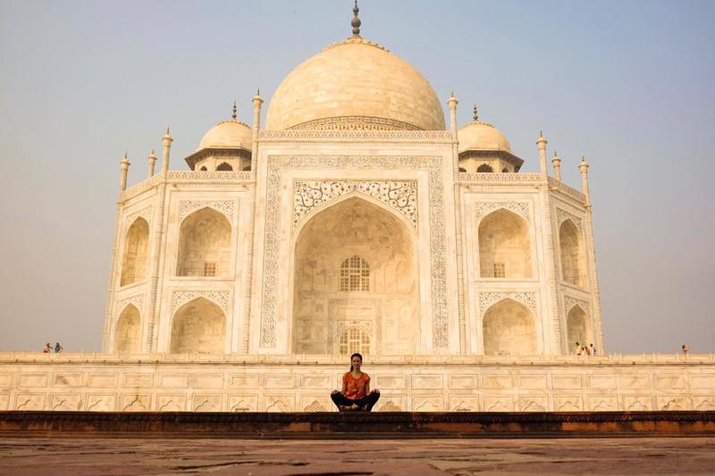 Kam do Indie Taj Mahal