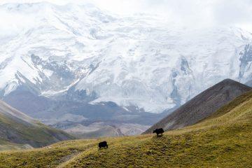itineráre do Kirgizska