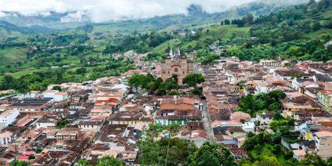 cestovanie po Kolumbii