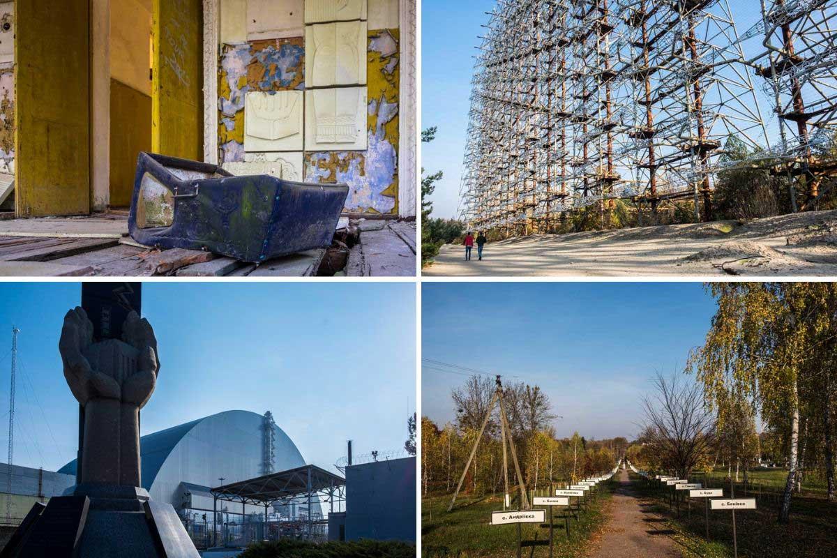 návšteva Černobyľa