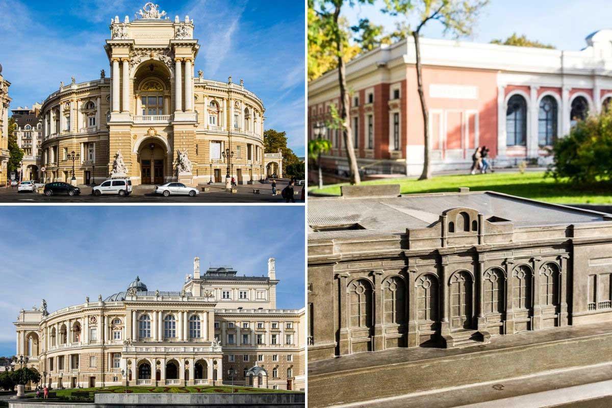 čo robiť v Odese