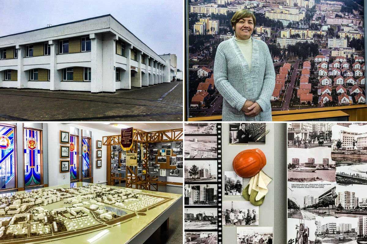 návšteva mesta Slavutyč